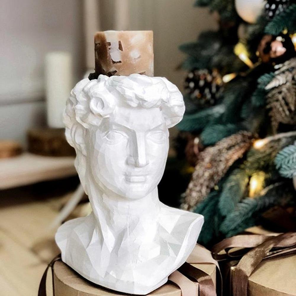 Ваза-органайзер Vase Head Давид ручной работы