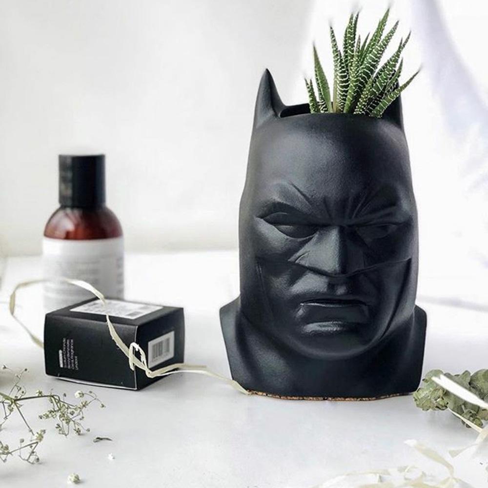 Ваза-органайзер Vase Head Бэтмен ручной работы