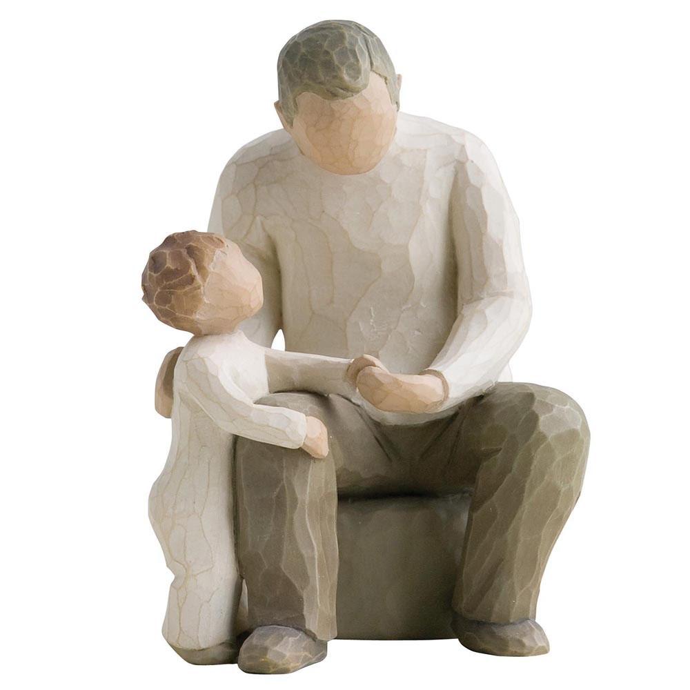 Парная статуэтка Enesco Дедушка с внуком