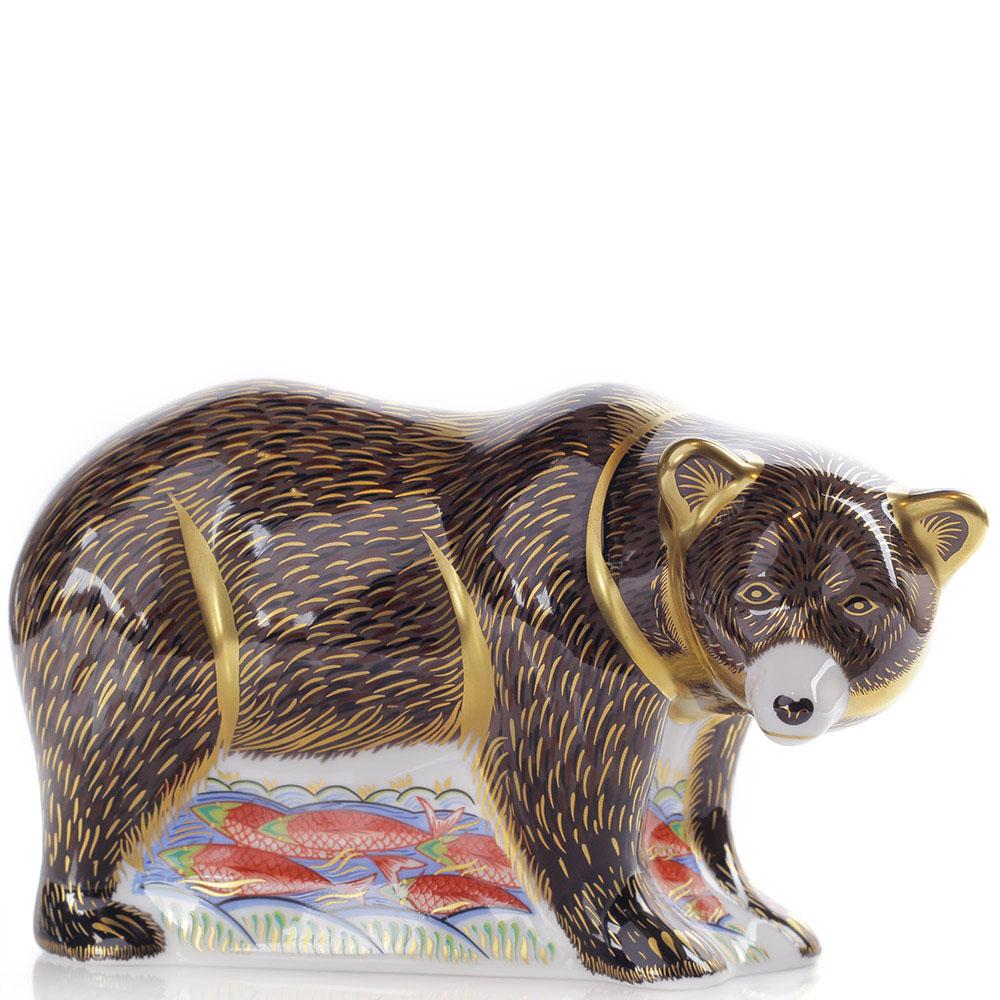 Фарфоровая фигурка Royal Crown Derby Медведь