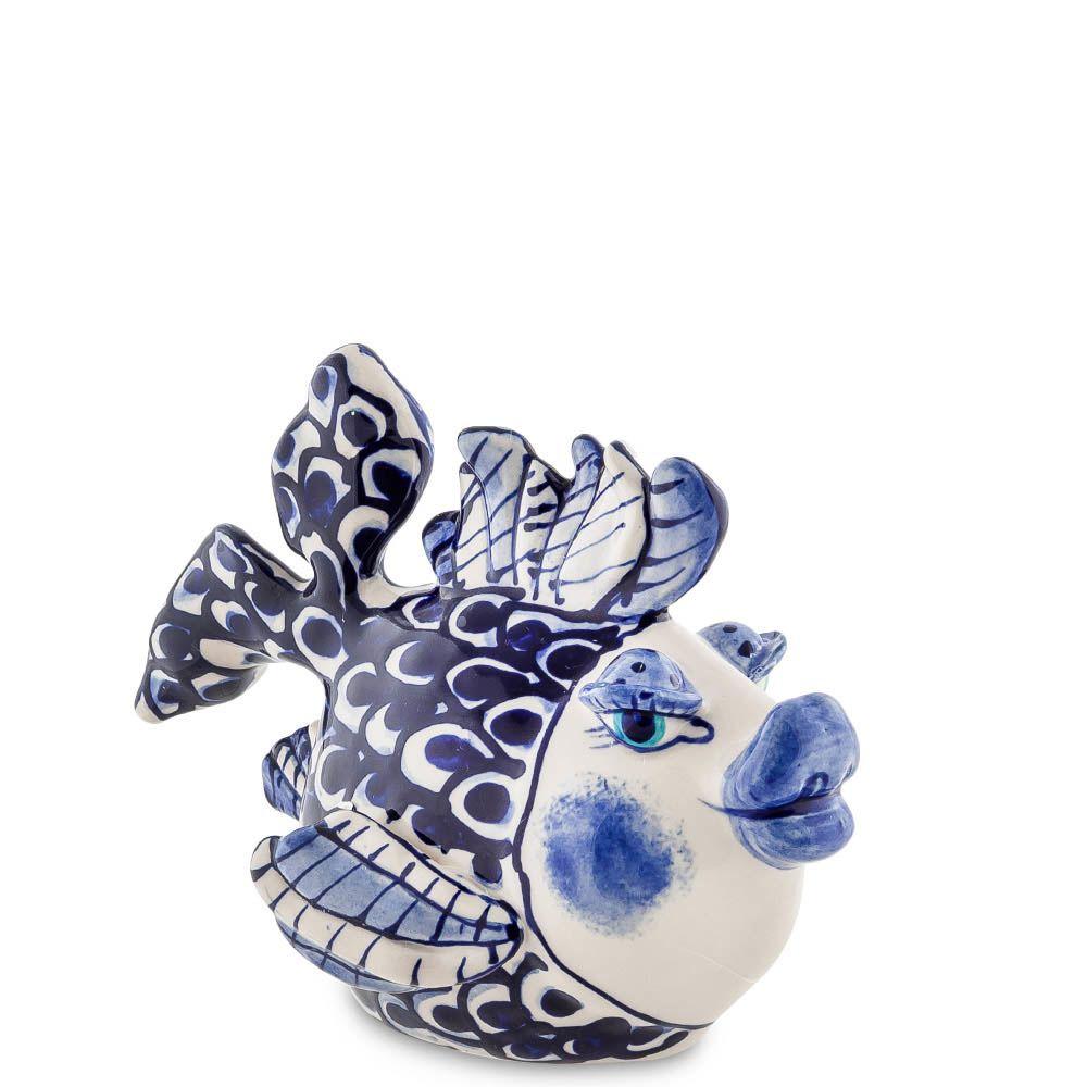 Керамическая фигурка Pavone Blue Sky Рыба миниатюрная