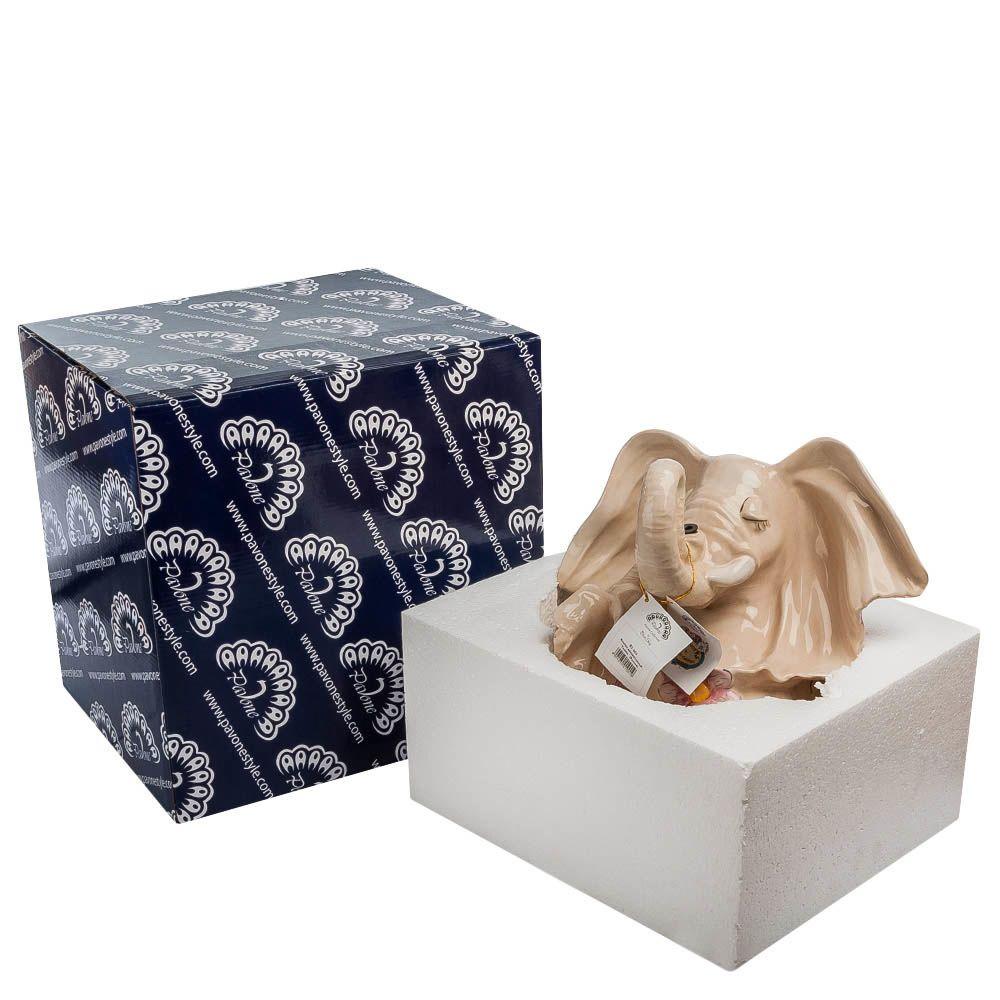 Фонтан декоративный Pavone Blue Sky Слоны