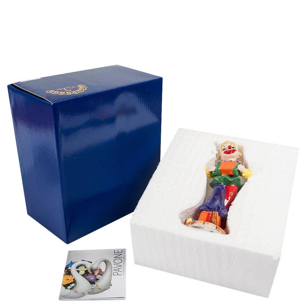 Фигурка из фарфора Pavone CMS Клоун с гармошкой