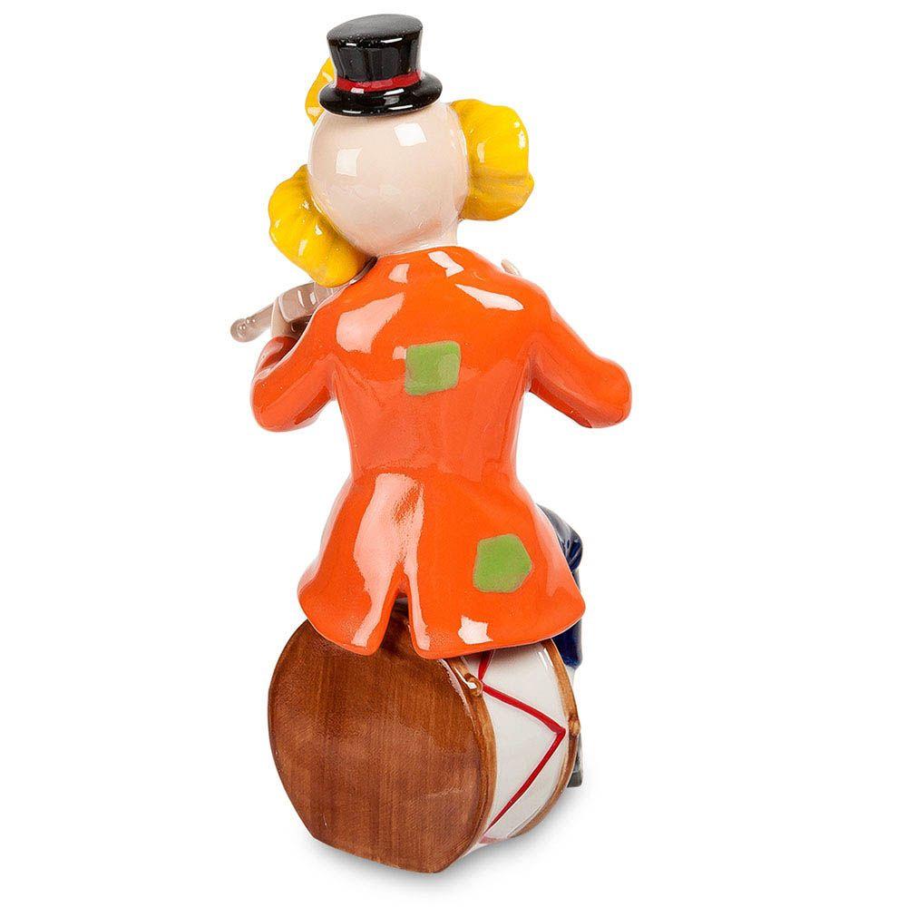 Фарфоровая фигурка Pavone CMS Клоун со скрипкой