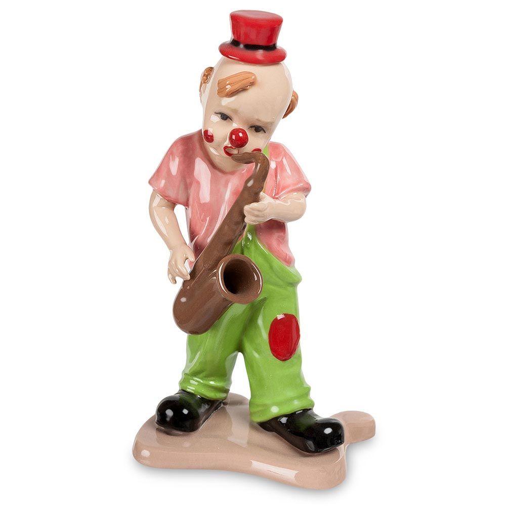 Фарфоровая фигурка Pavone CMS Клоун с саксофоном