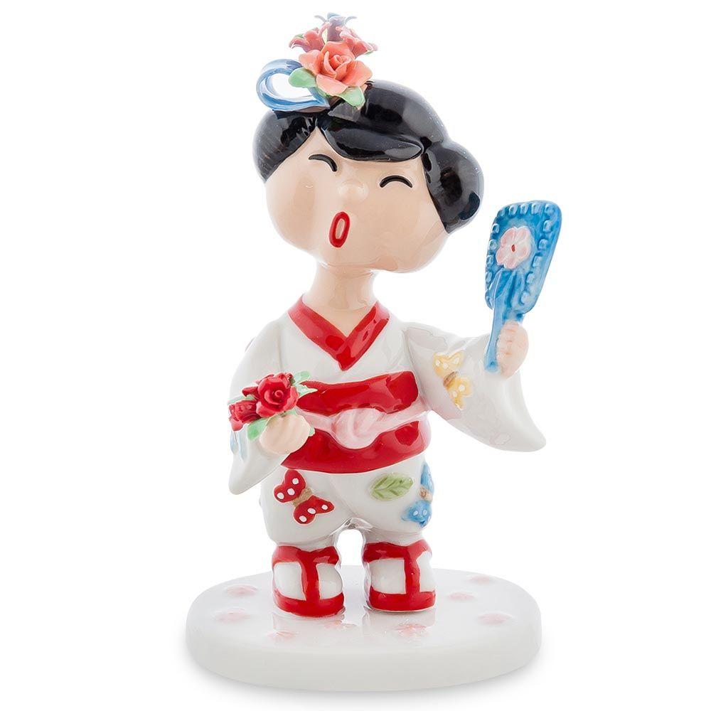 Фарфоровая статуэтка Pavone CMS Леди Япония