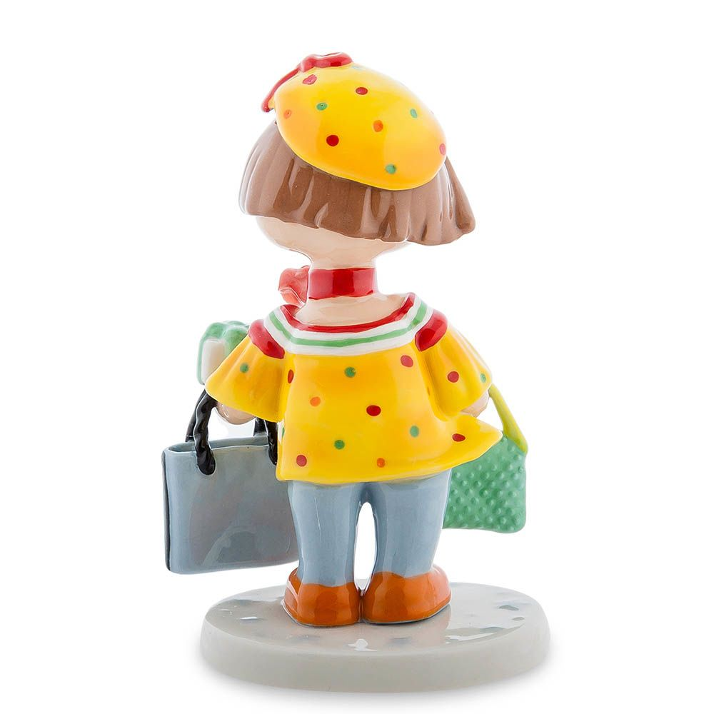 Фарфоровая статуэтка Pavone CMS Леди шоппинг