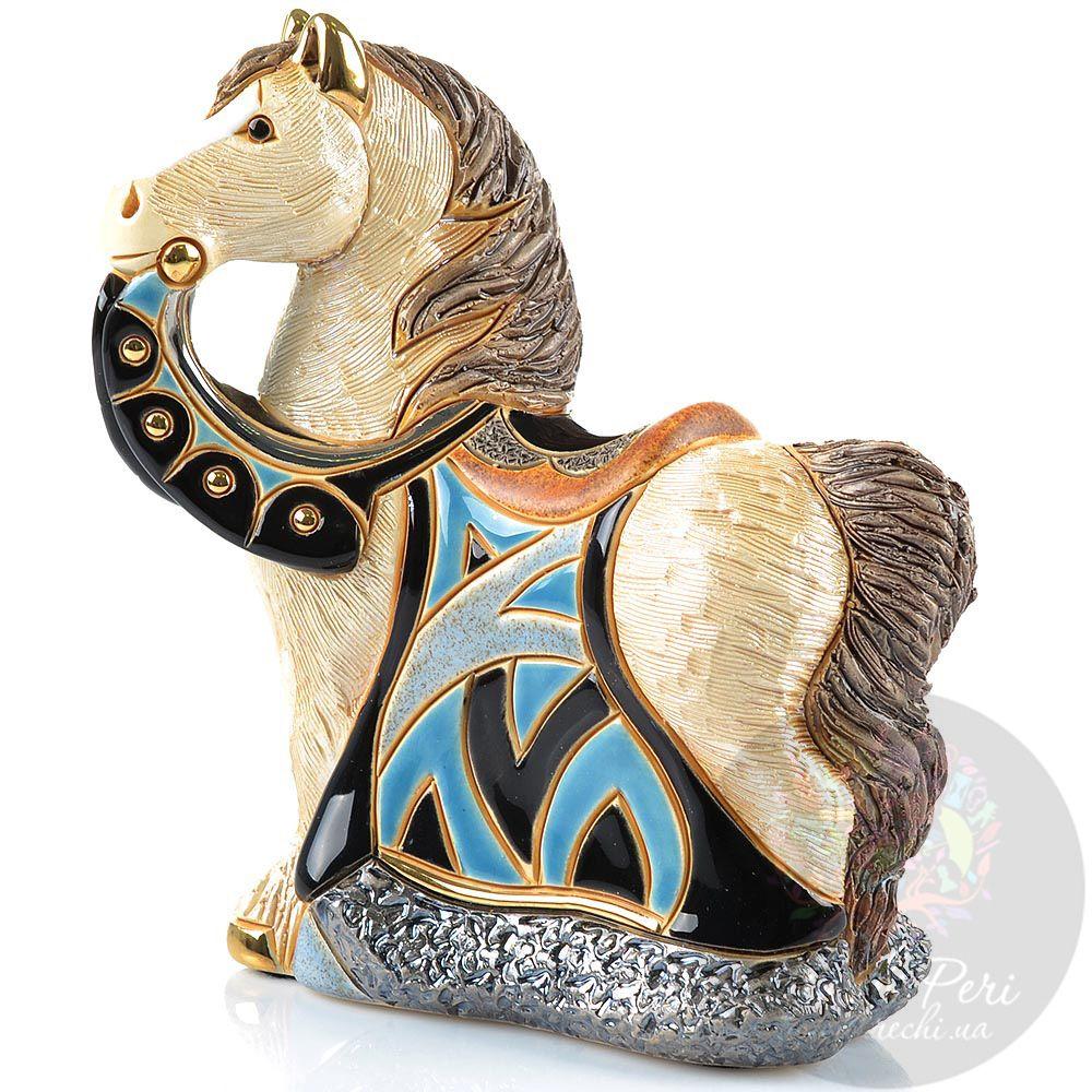 Фигурка De Rosa Rinconada Small Wildlife Конь королевский в синем