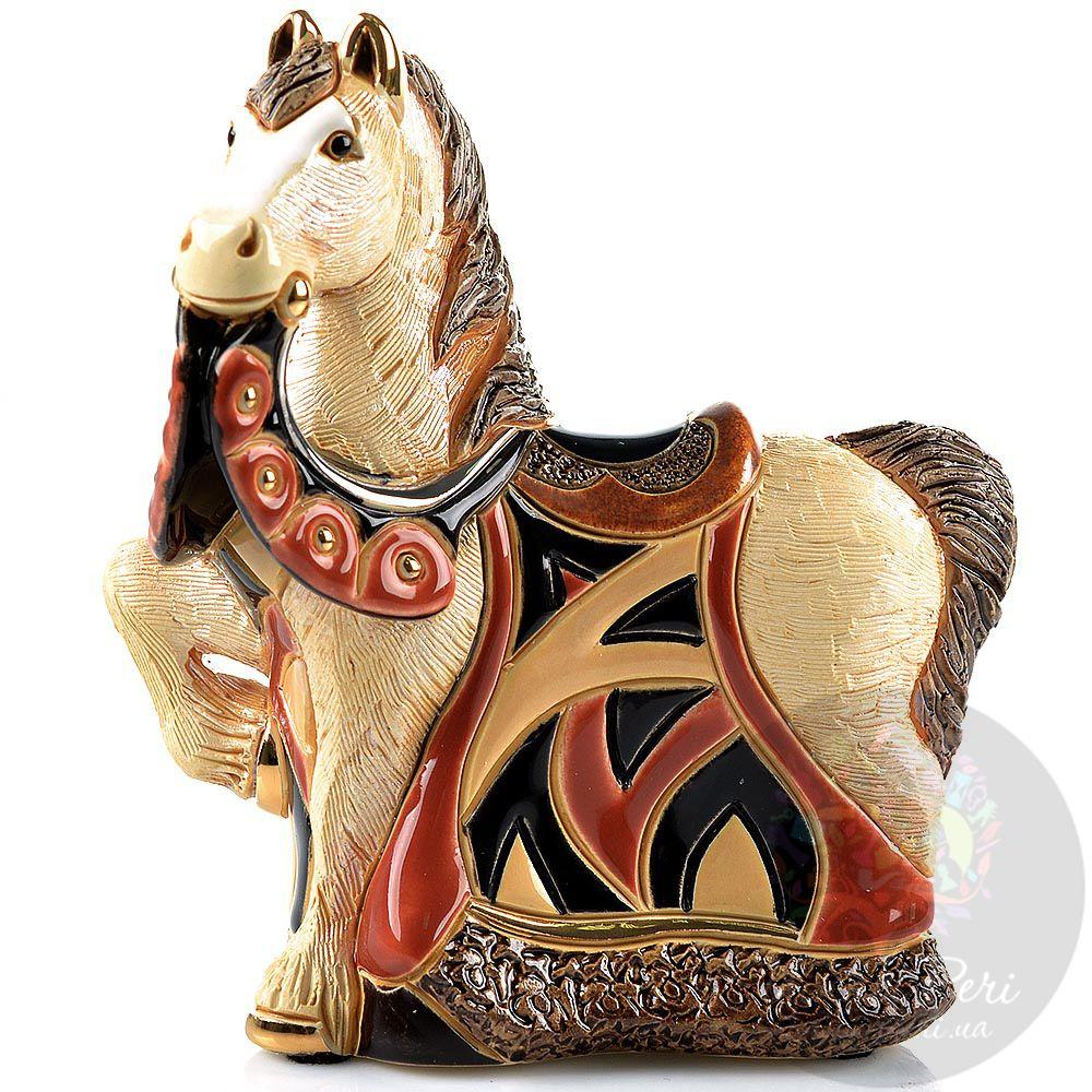Фигурка De Rosa Rinconada Small Wildlife Конь королевский в красном