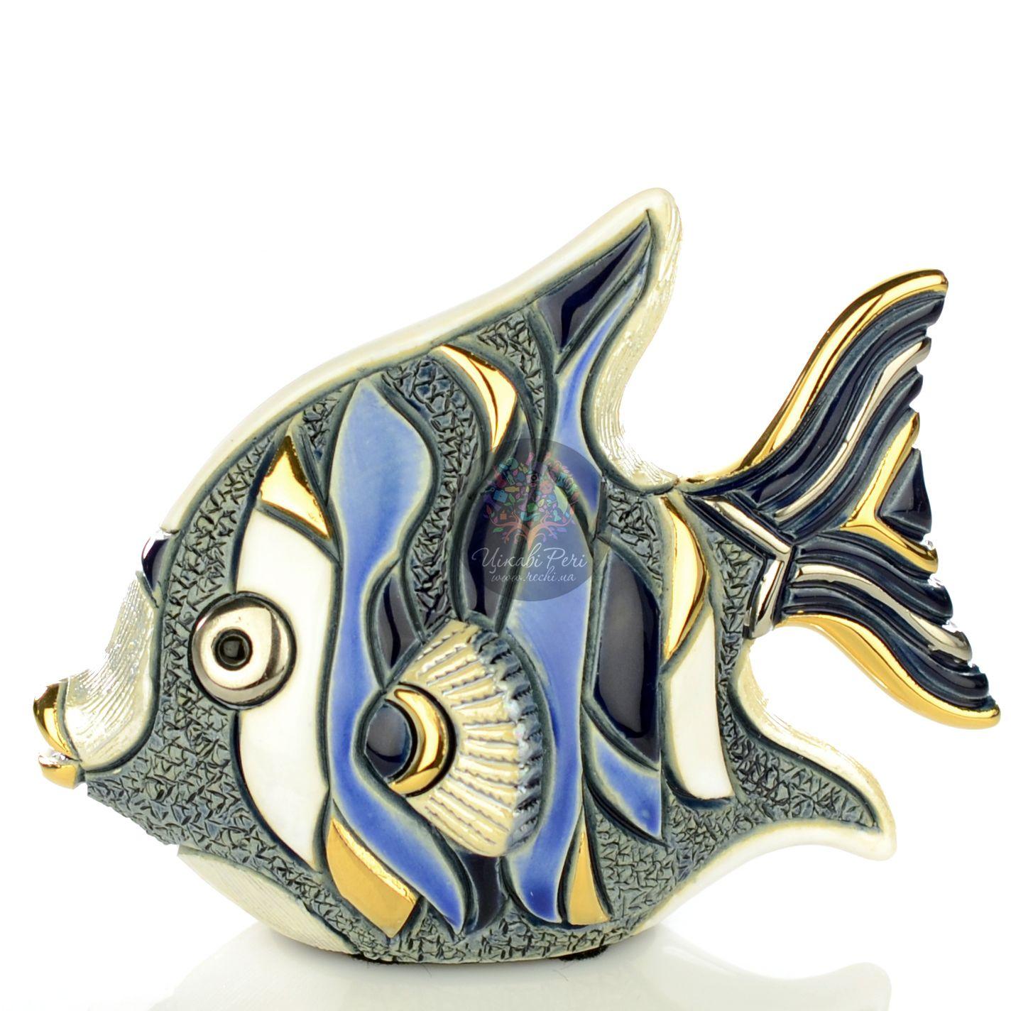 Фигурка De Rosa Rinconada Families Рыба-Ангел серо-бело-синяя
