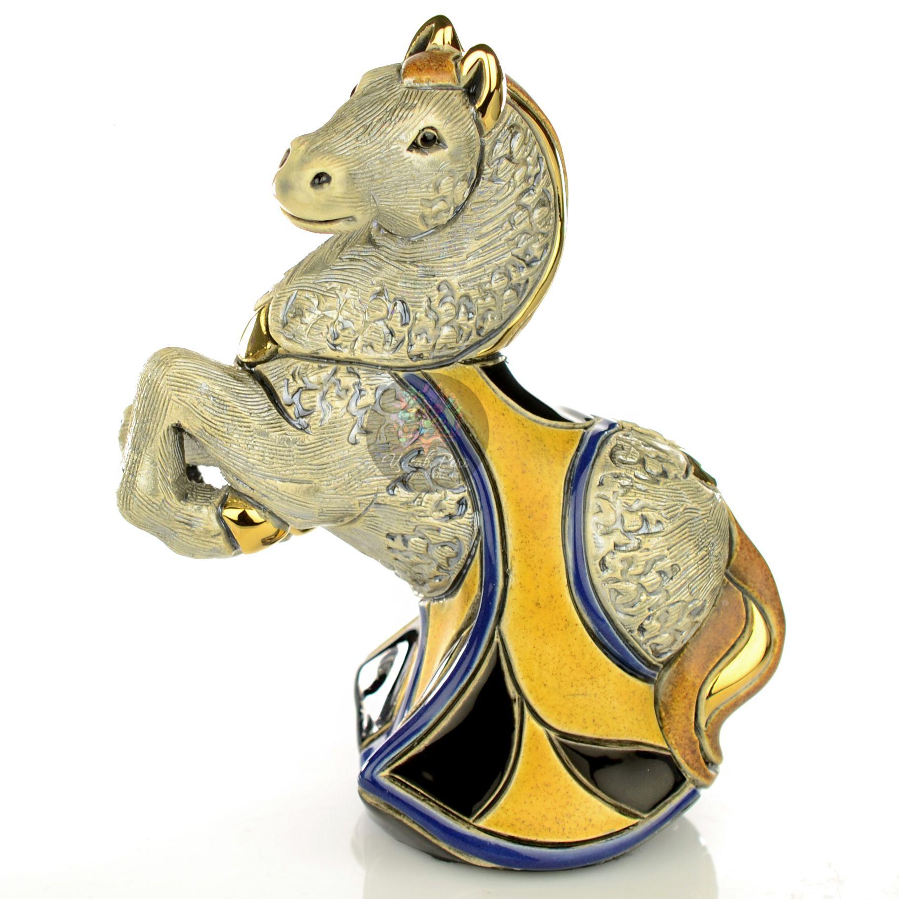 Фигурка De Rosa Rinconada Families  Конь Серый