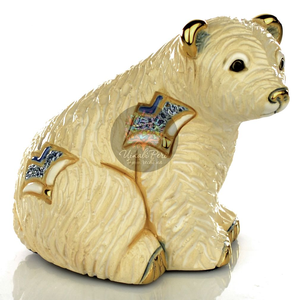 Фигурка De Rosa Rinconada Families  Медвежонок Белый