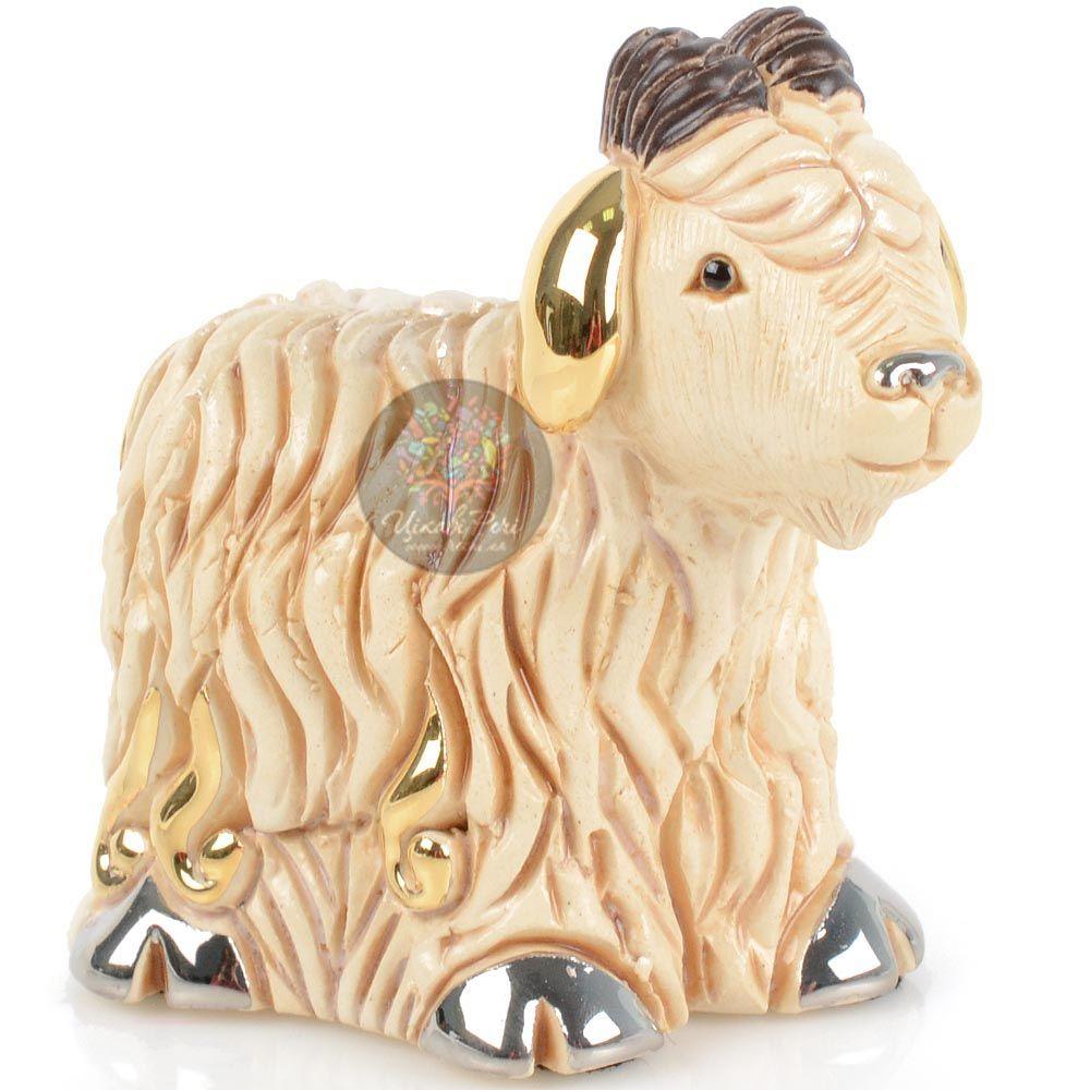 Фигурка De Rosa Rinconada Families Zodiac Овечка (Козочка) кремовая