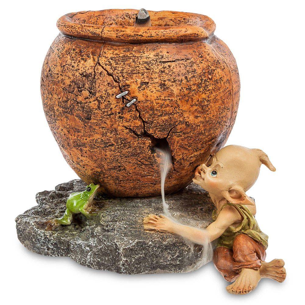 Фигура Pavone ED Гном с лягушкой