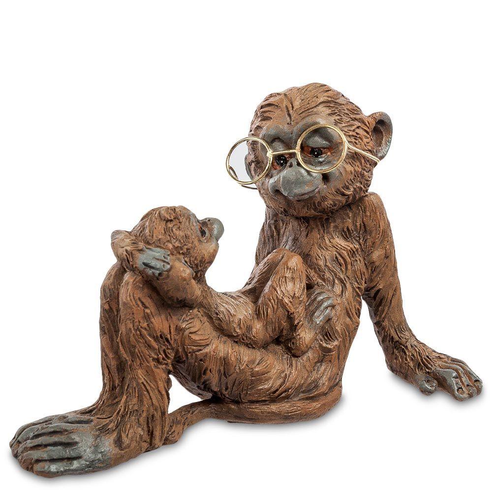Фигурка Pavone ED Обезьяна с малышом