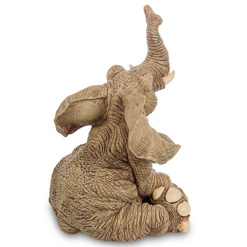 Большая фигура Sealmark из полистоуна Задумчивый слон