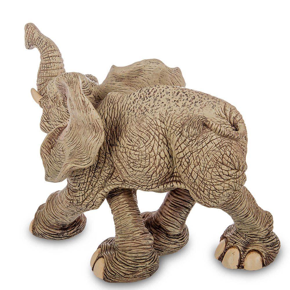Большая фигура Sealmark из полистоуна Бегущий слон