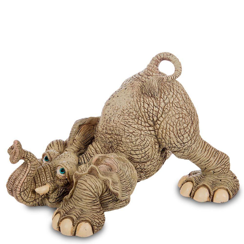 Большая фигура Sealmark из полистоуна Играющий слон
