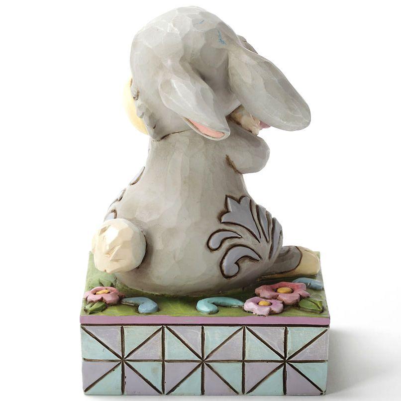 Фигурка Enesco коллекции HeartWood Кролик с цветком