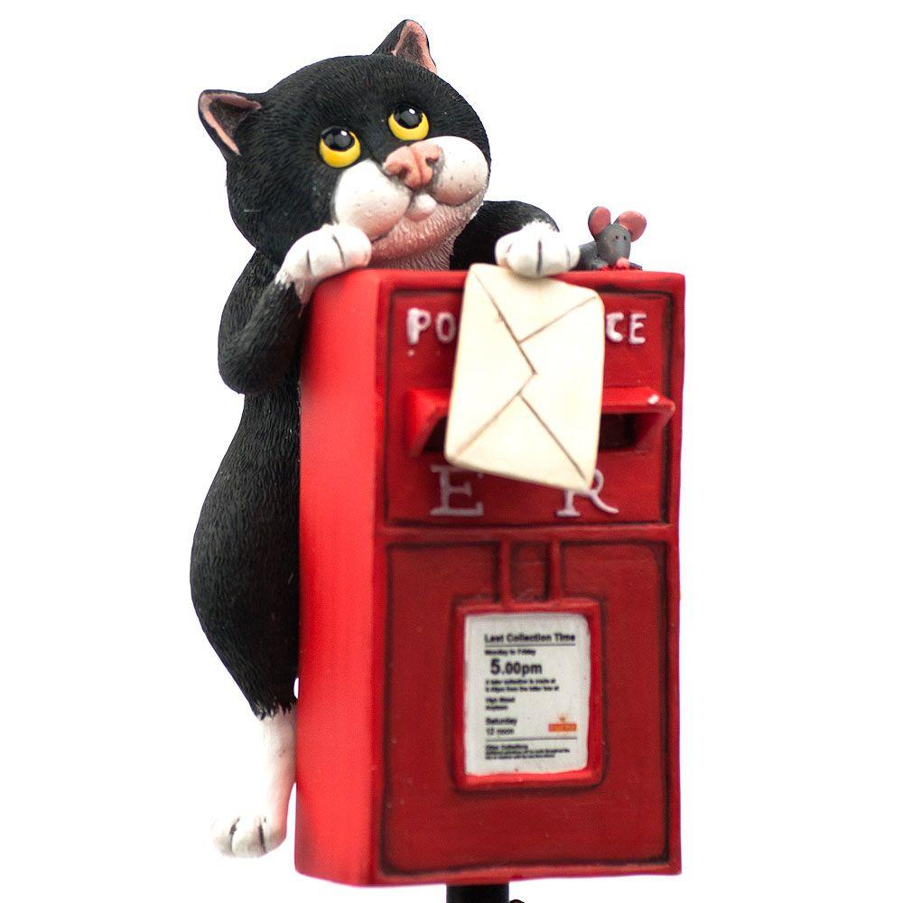 Коты с почтовым ящиком Enesco