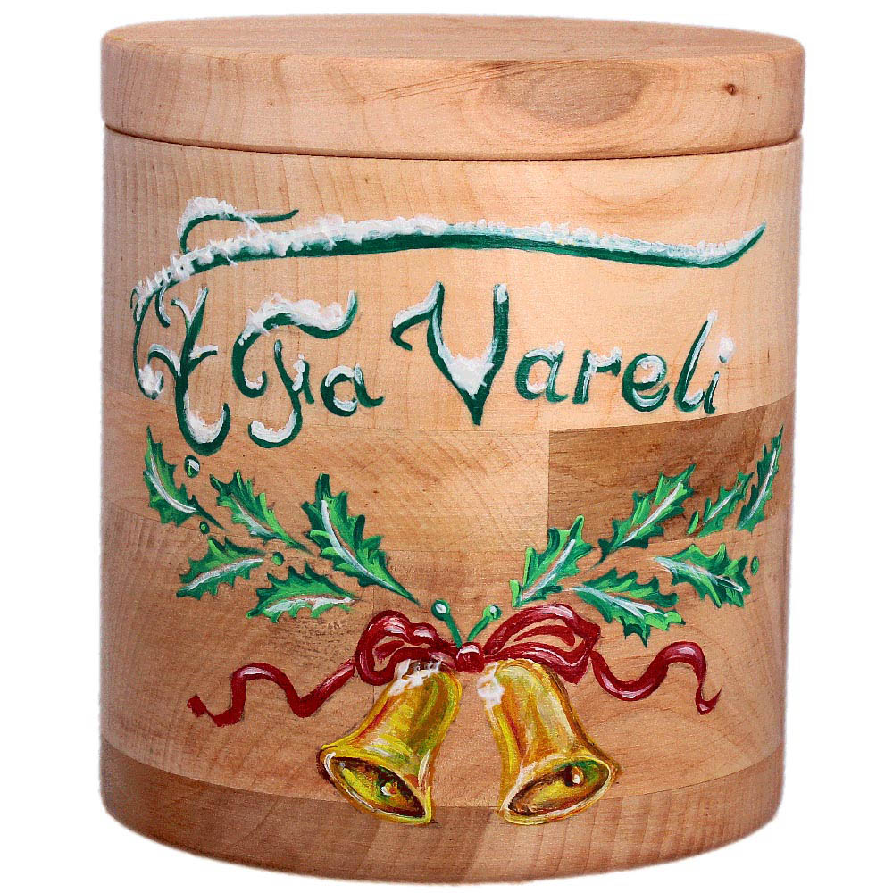 Елочный шар FaVareli Сочельник с ручной росписью