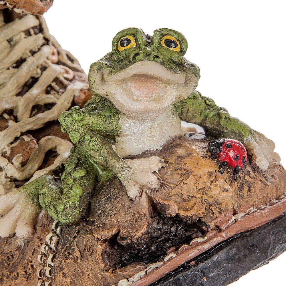 Кашпо Sealmark Башмак с лягушкой