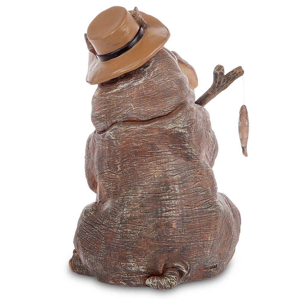 Фигура Sealmark из полистоуна Бегемот на рыбалке