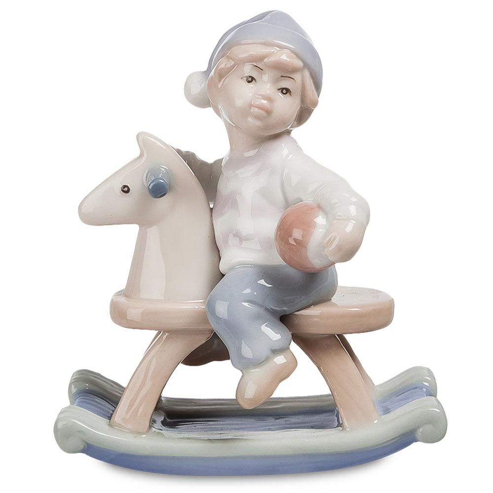 Фигурка Pavone JP Мальчик на лошадке