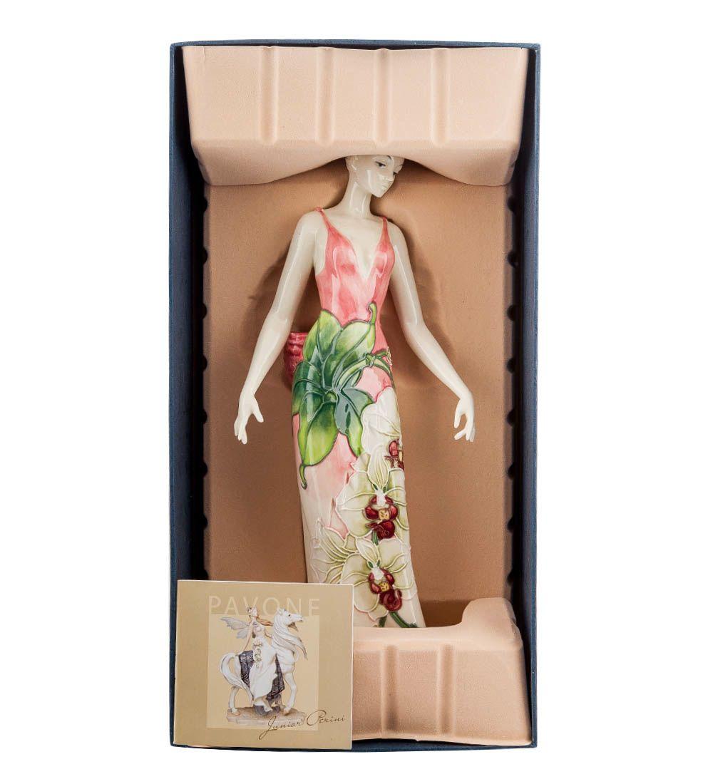 Статуэтка Pavone JP Design Девушка Орхидея