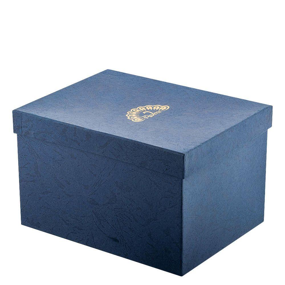 Статуэтка Pavone JP Design Слон черный с голубой накидкой
