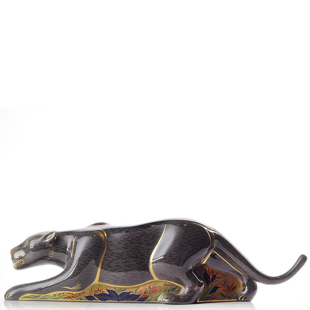 Фарфоровая фигурка Royal Crown Derby Пантера