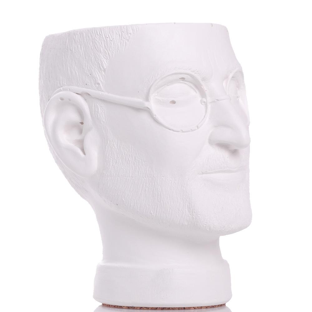Ваза-органайзер Vase Head Стив Джобс