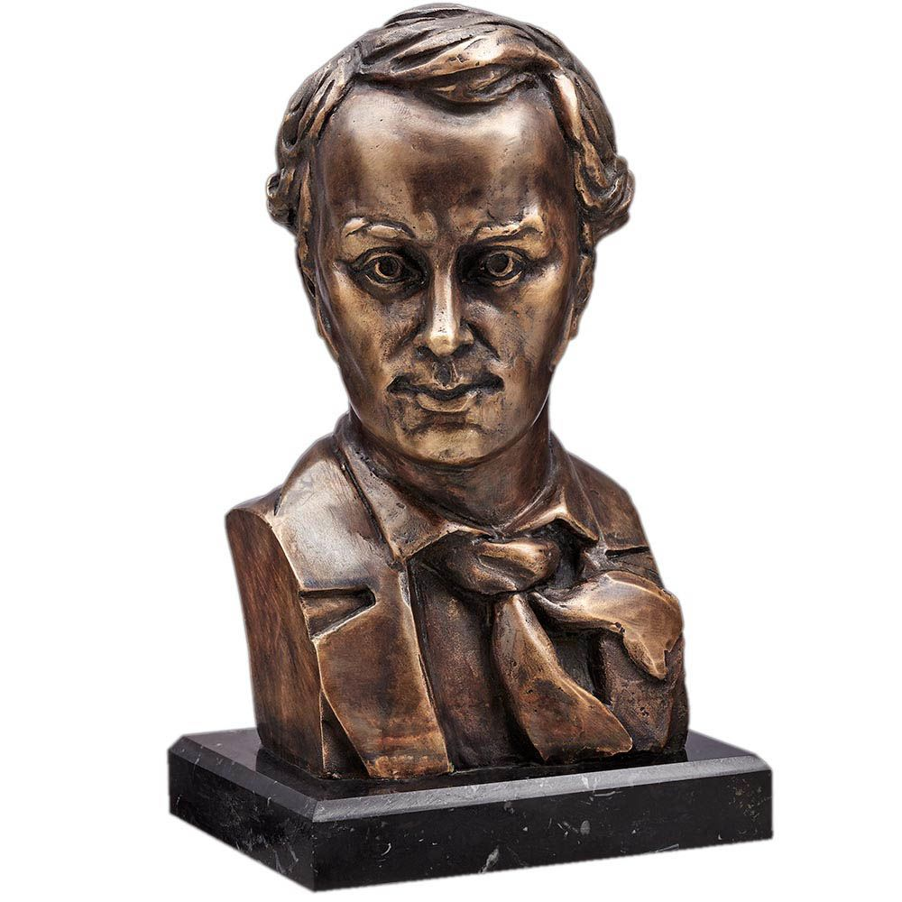 Скульптура Vizuri Бюст молодой Шевченко