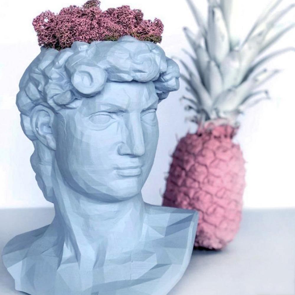 Ваза-органайзер Vase Head Давид многофункциональная, фото