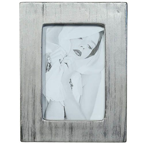 Фоторамка Tognana Porcellane прямоугольной формы серебристая, фото