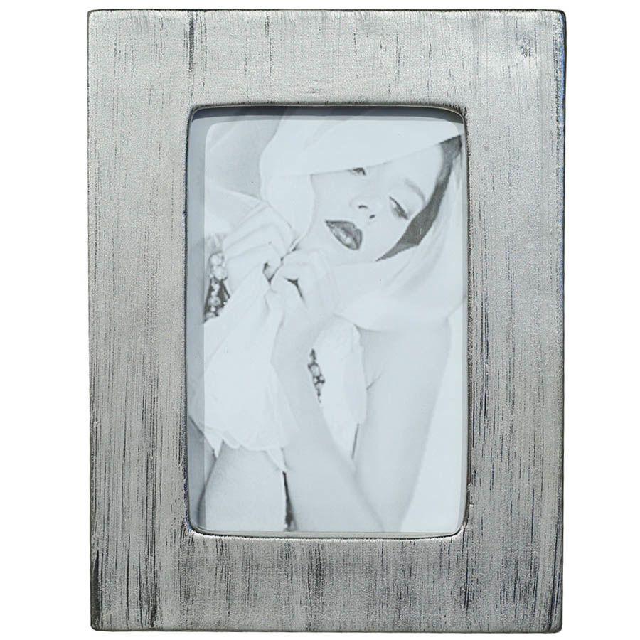 Фоторамка Tognana Porcellane прямоугольной формы серебристая