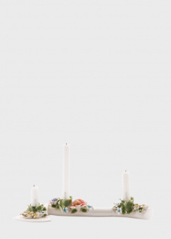 Подсвечник Seletti Flower Attitude в виде топора с цветами, фото