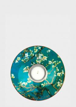 Подсвечник со свечей Goebel Artis Orbis Миндальное дерево 15х3,5см, фото