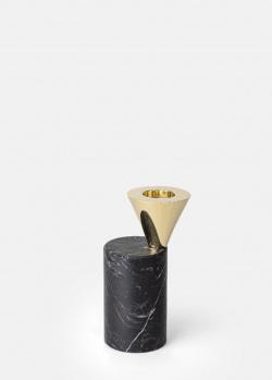 Подсвечник Skultuna Streamer Black черного цвета 9,6см, фото