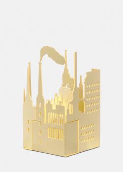 Подсвечник Skultuna Factory из полированной латуни, фото