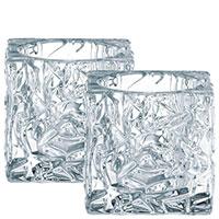 Набор подсвечников Nachtmann Ice Cube 7cм из 2 штук, фото