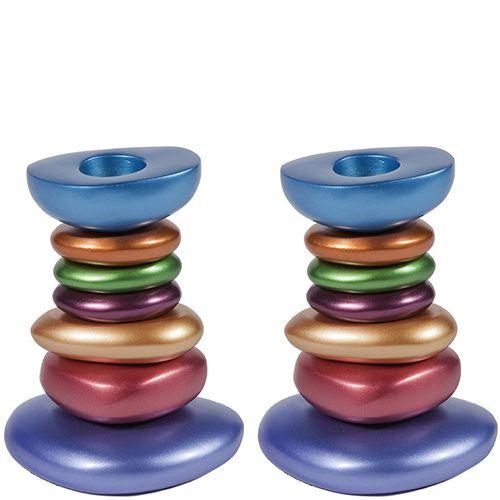 Пара подсвечников Emanuel разноцветные, фото