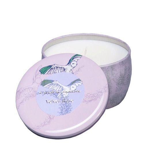 Ароматизированная свеча Serenity Бархатная роза, фото
