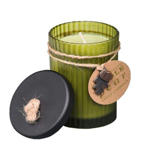 Ароматизированная свеча Serenity Яблоко-груша в стеклянной банке, фото