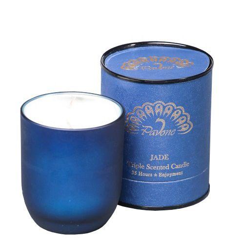 Ароматическая свеча Serenity Pavone Jade в подарочной коробке, фото