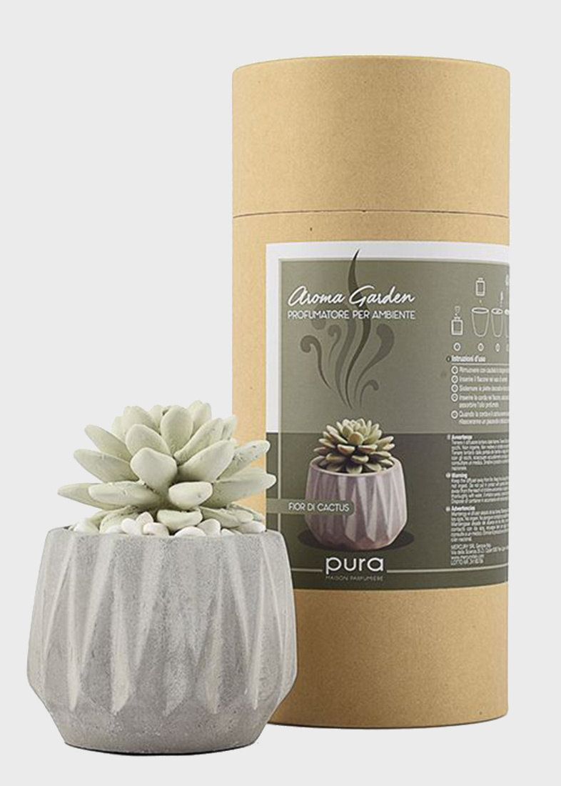 Аромадиффузор Mercury Aroma Garden Flor в виде суккулента