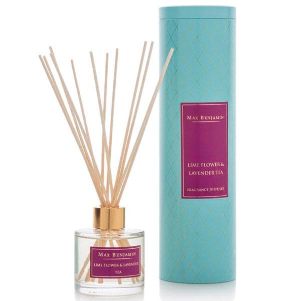 Аромадиффузор Max Benjamin Lime Flower Lavender Tea