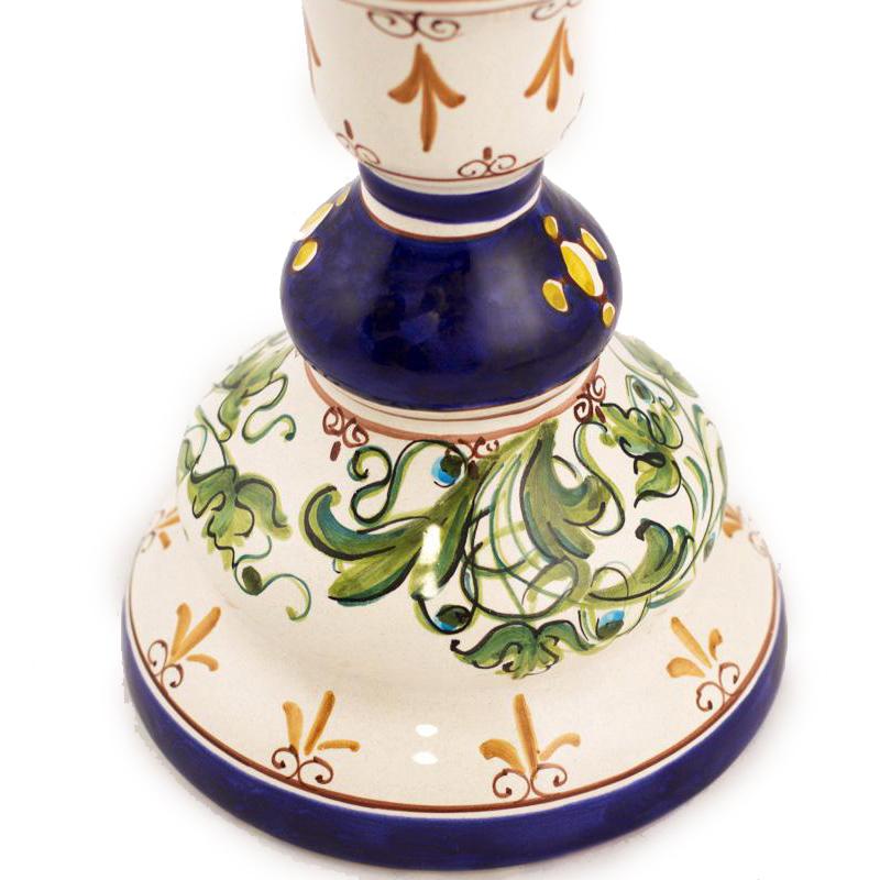 Подсвечник L'Antica Deruta Armi из керамики