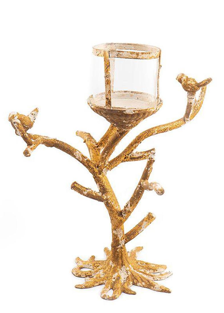 Подсвечник Mastercraft Птицы на дереве
