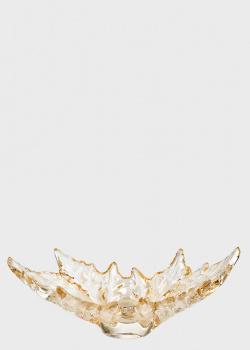 Ваза Lalique Champs-Elysees с позолотой, фото